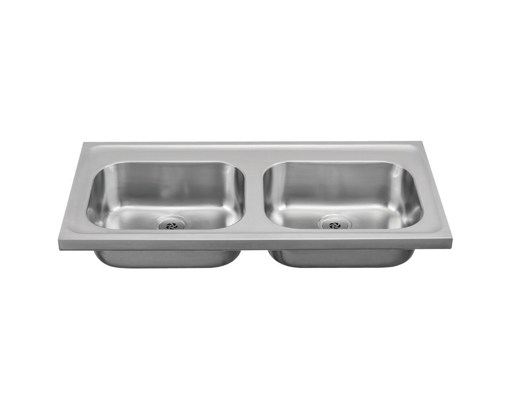 Franke Double Bowl Sink 1200mm