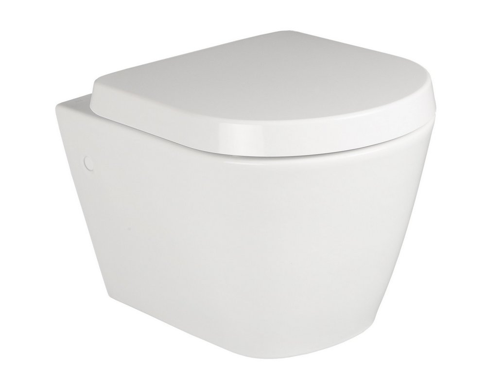 Langley Wall Mounted WC on white background