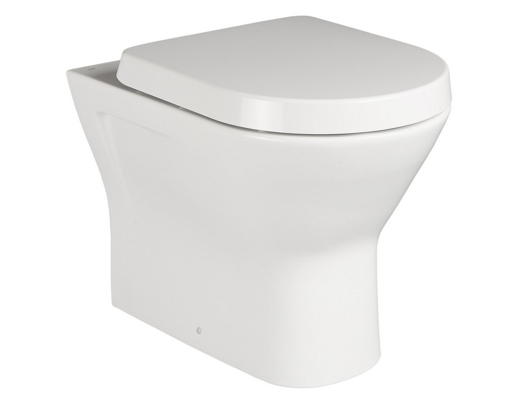 Langley Back To Wall WC on white background