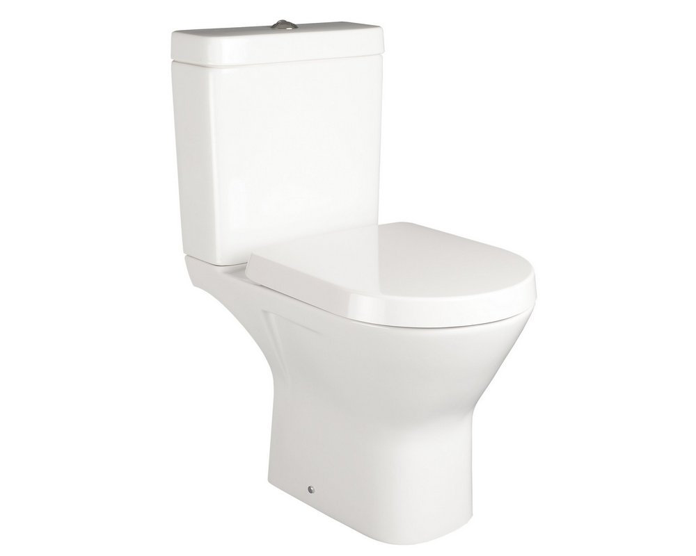 Langley Close Coupled WC on white background