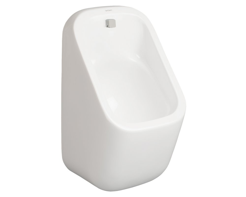 Marden Concealed Trap Urinal on white background