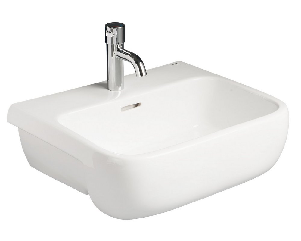 Marden 520 Semi Recessed Basin CTH on white background