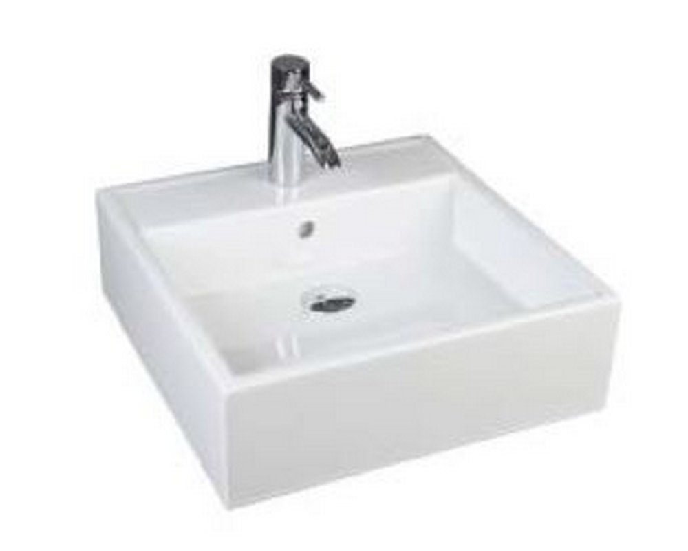 Marden 460 Square Sit On Basin CTH on white background