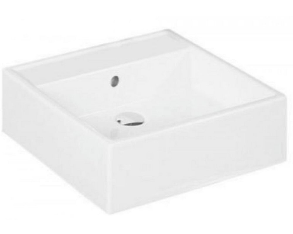 Marden 460 Square Sit On Basin NTH on white background