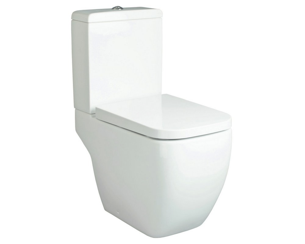Marden Close Coupled WC on white background