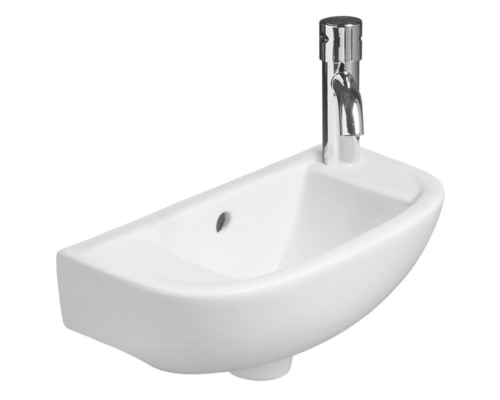 Shenley 450 Slim Wall Hung Basin RHTH