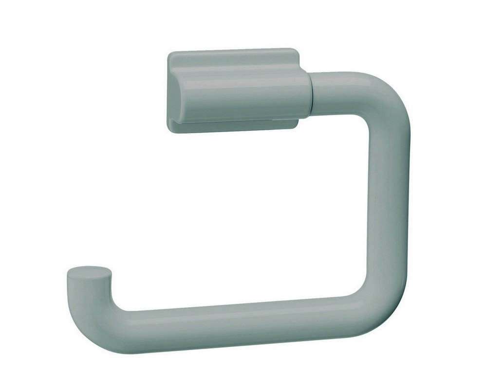 Single nylon toilet roll holder in 'Light Grey' colour