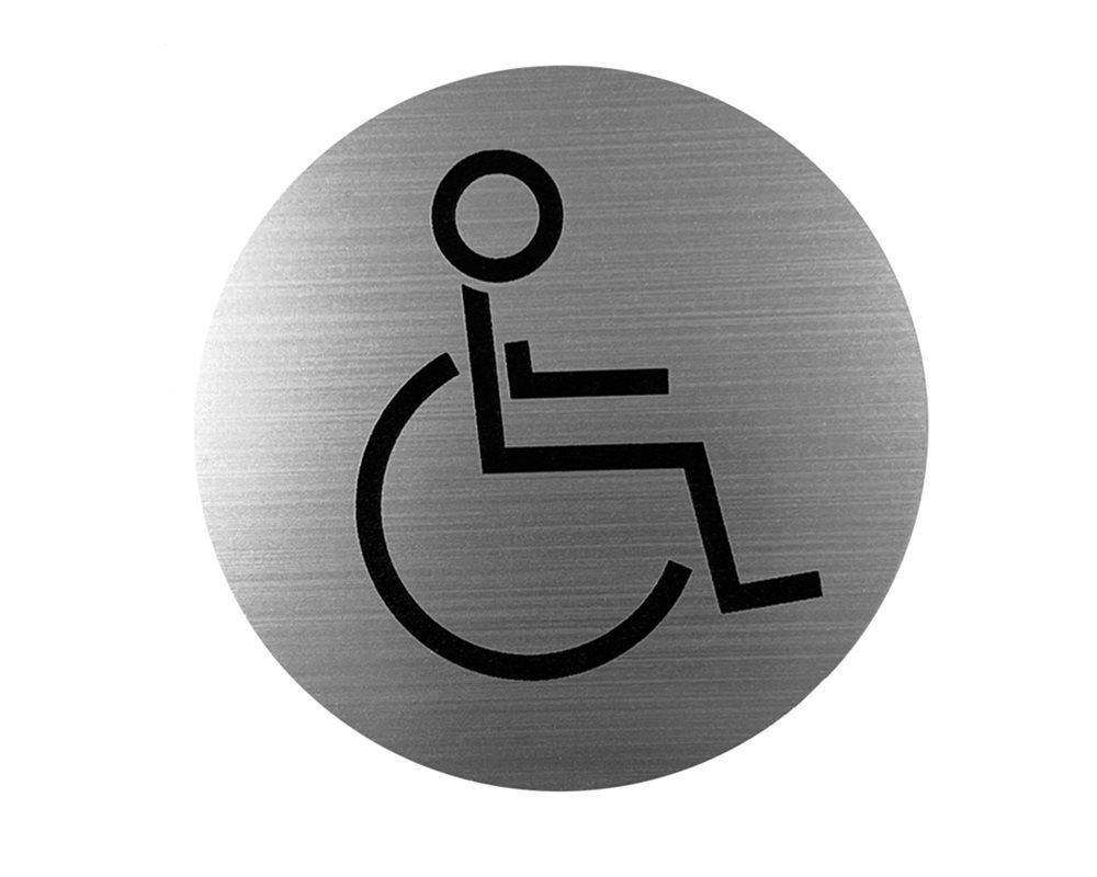 Disabled WC Door Sign