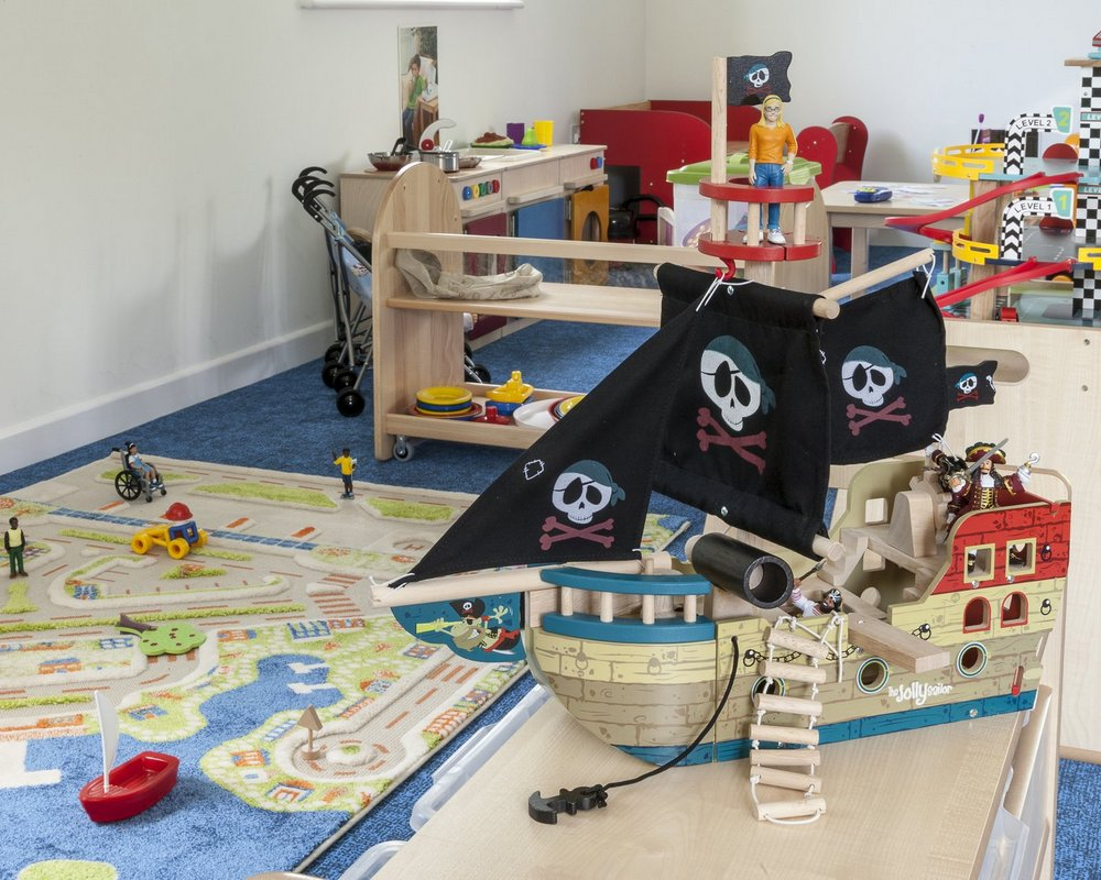 Play room in Littleworld Day Nursery