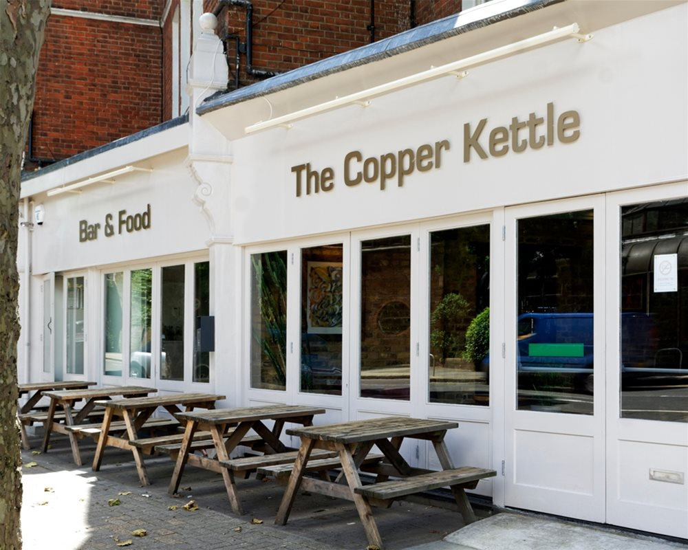 The Copper Kettle bar and restaurant outside view