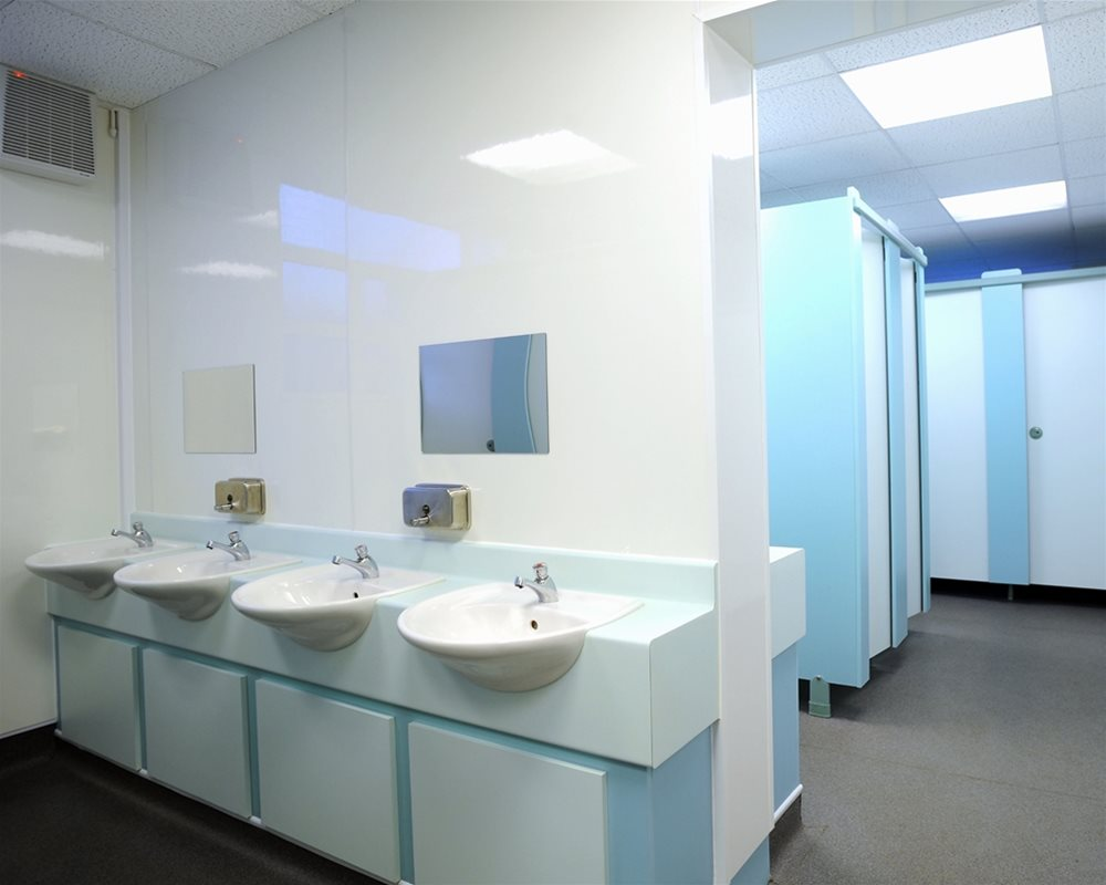 Christ the King Primary School Semi-Recessed Vanity Unit