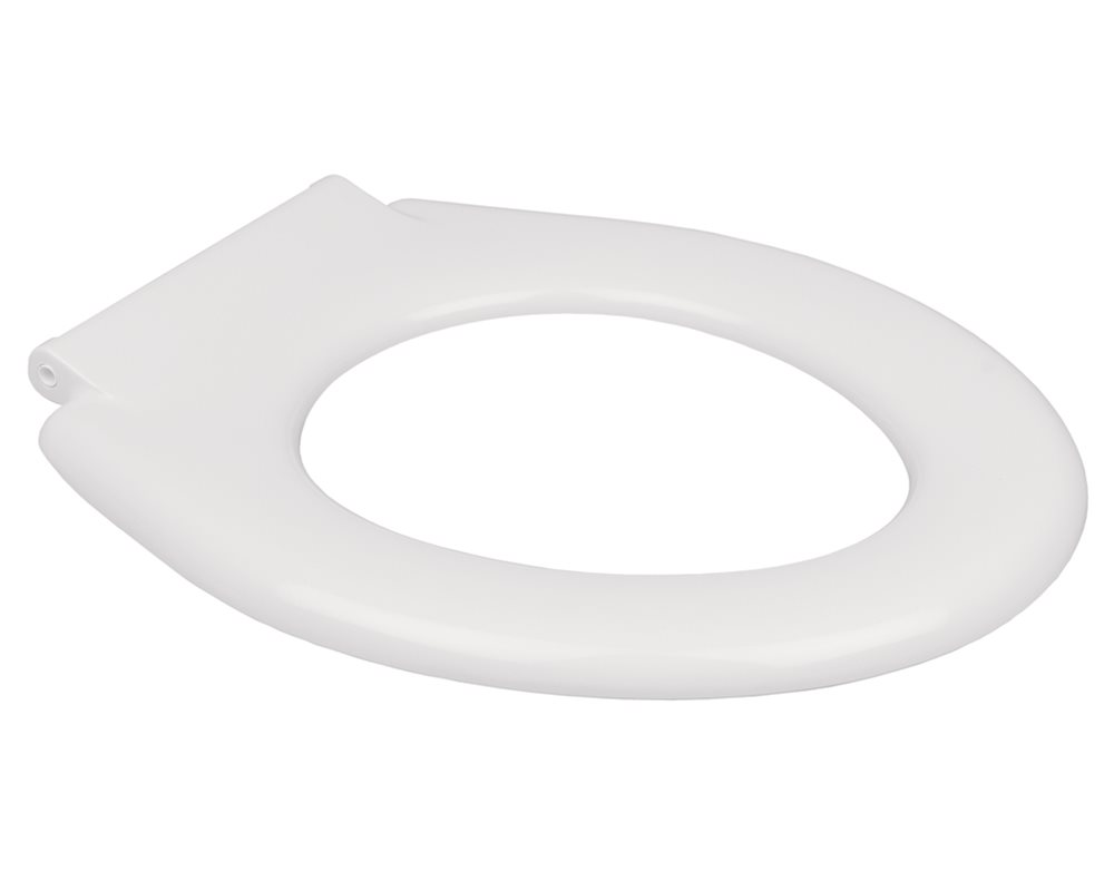 Shenley white toilet seat on a white background