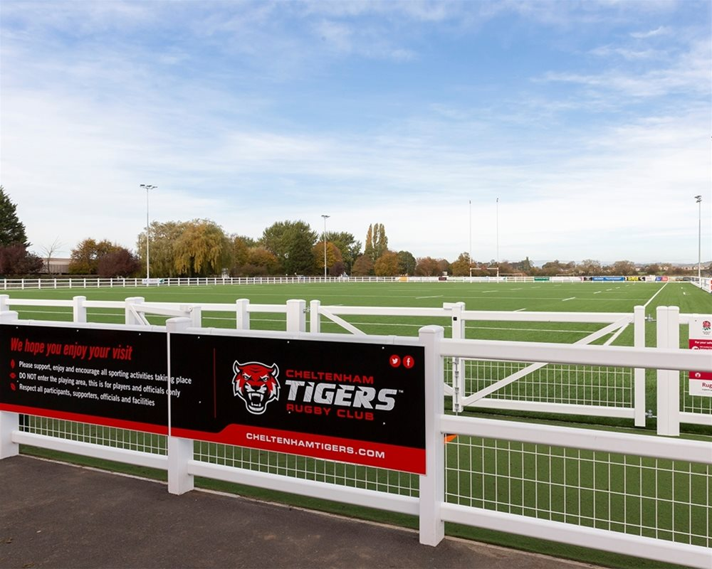 Cheltenham Tigers Rugby Club Pitch