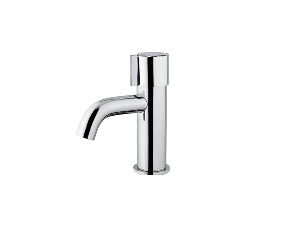 SanCeram non-concussive basin mounted tap with adjustable temperature control