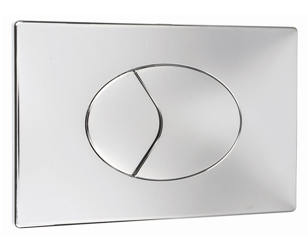 Oyster dual push plate on white background