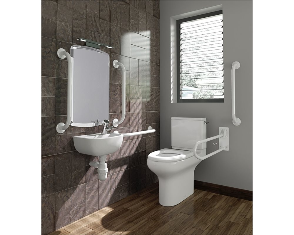 Doc M Pack with Close Coupled WC, Grey