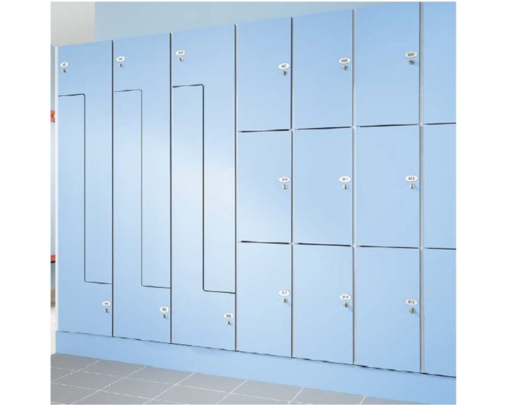 Model Locker Styles blue