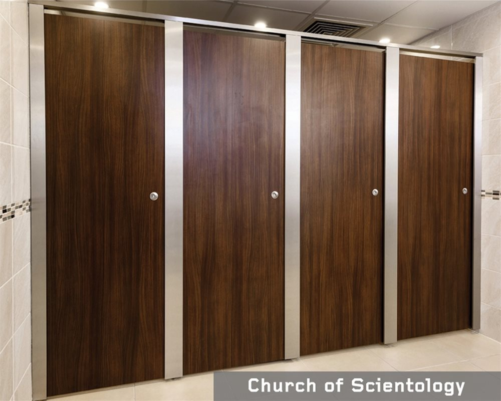Church of Scientology Toilets